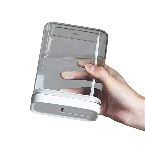 Voedsel Behoud Doos Voedsel Plastic Verzegelde Opslag Jar Keuken Transparant 800ML
