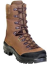 Kenetrek Mountain Guide Nonsinsulated Boots, Color Brown (Ke-420-Gni)