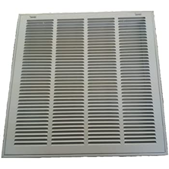 20 X 20 Air Return Filter Grille Stamped Steel Face