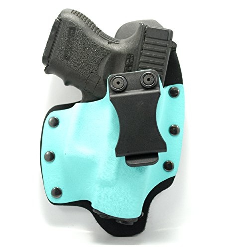 Light Blue IWB Hybrid Concealed Carry Holster (Right-Hand, SCCY CPX - Usa Tiffany