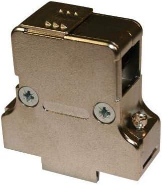 982-015-020R121 DA 982 Series Metallised Plastic Body 90? D Sub Backshell 180? Pack of 2 982-015-020R121