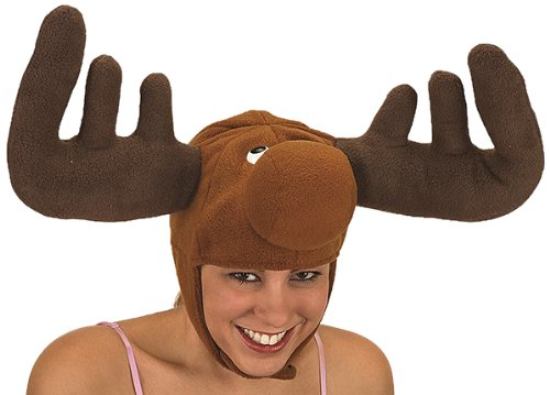 Jacobson Hat Company Adult Moose Hat Brown Medium -