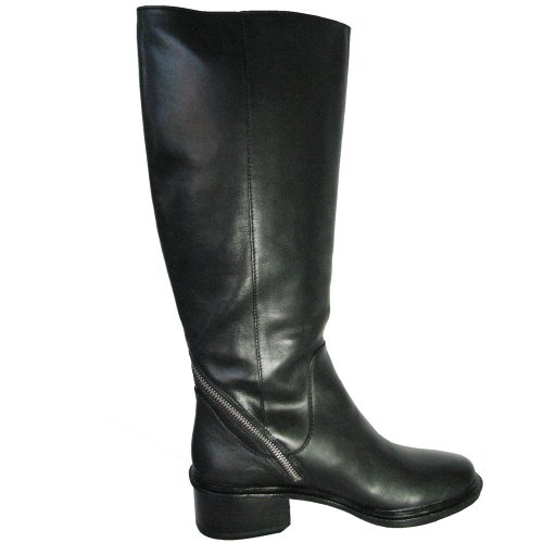 Elizabeth and James Womens E-Heidi Boot Black Leather Z04mCw