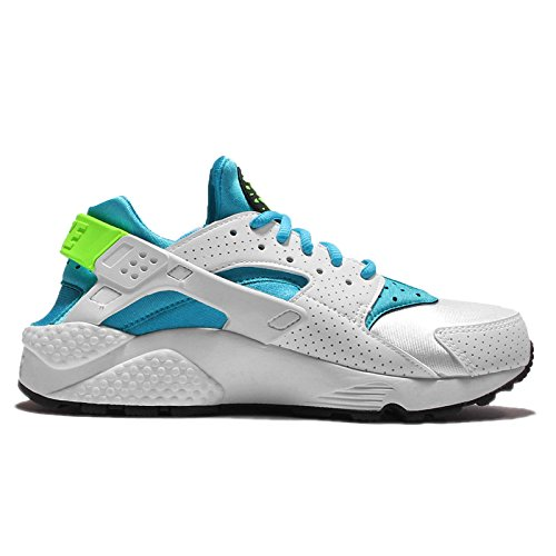 White Women's Run Huarache Gamma Gymnastics Blue Green Shoes Air Nike White elctrc 6Wn4p0W