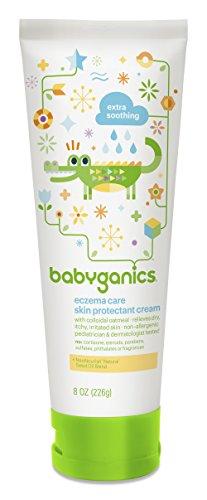 Peau BabyGanics eczéma soins protecteur Crème, 8 oz Tube (Pack de 2)