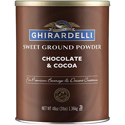 Ghirardelli Sweet Ground Chocolate and Cocoa   3 lb.   Baking & Desserts