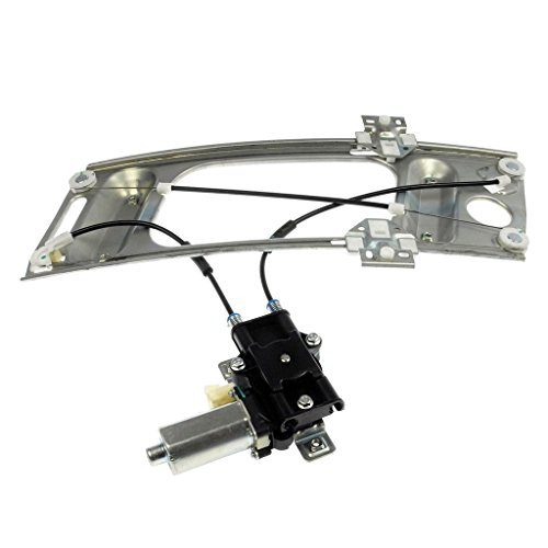New Year VioGi 1pc New Front Passenger Rigth FR RH Side Power Glass Window Regulator w/ Motor For 00-07 Chevy Monte Carlo 2-Door Coupes & 97-02 Pontiac Grand Prix 2-Door Coupes (Door Prix 2 Pontiac Grand)