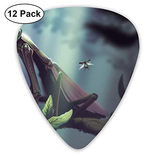 V5DGFJH.B Praying Mantis Classic Guitar Pick Player's Pack for Electric Guitar,Acoustic Guitar,Mandolin,Guitar Bass ()