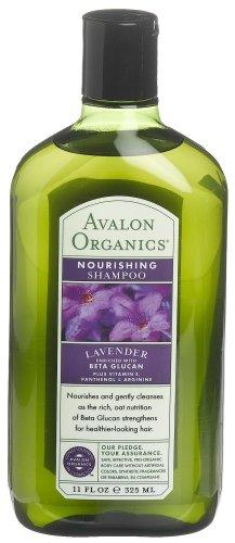 Avalon Organics Lavender Nourishing Shampoo , (11 oz)