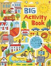 Big Activity Book (Doodle Books (Usborne Books))