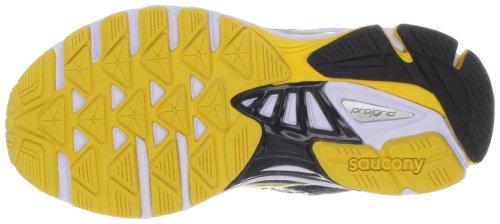 Saucony ProGrid Ride 5 Running Shoe Black/Yellow/Grey