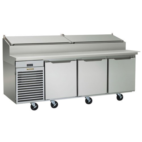 Traulsen TS090HT 115 90-in Reach-In Refrigerated Prep Table w/ Insulated Lid, 115 V, Each (Table Traulsen Prep)