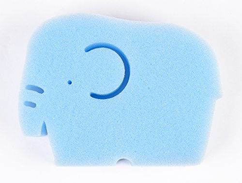 TotMart Infant Bath Sponge, Newborn Essential, Yellow