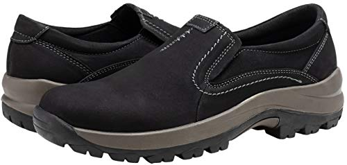 Pictures of JOUSEN Men's Slip On Loafers Jungle Black 10 M US 2