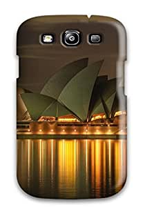 Hot Fashionable Galaxy S3 Case Cover For Golden Nail Night Desktop Protective Case 4729681K52630291