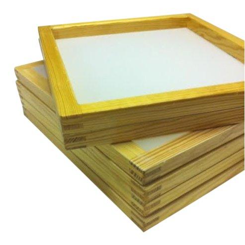 Mesh Woods (6 Wood Silk Screen Frame 20 X 24, (OD) 110 Mesh)