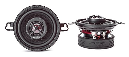 Skar Audio SK35 3.5-Inch 2-Way 120 Watt Coaxial Speakers - Pair 120w Coaxial Speaker