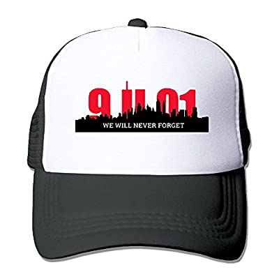 We Will Never Forget 911 Men Women Adjustable Snapback Hats Hip Hop Caps | Baseball Caps Mesh Back
