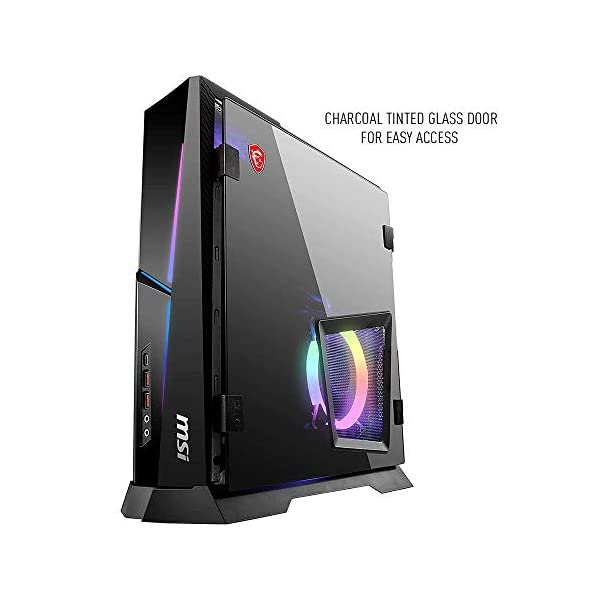 MSI Trident X Plus 9SD-042US High-End Small Form Factor PC Intel Core i7-9700K RTX 2070 Armor 8G OC 16GB 512GB PCIe NVME SSD,Black 6
