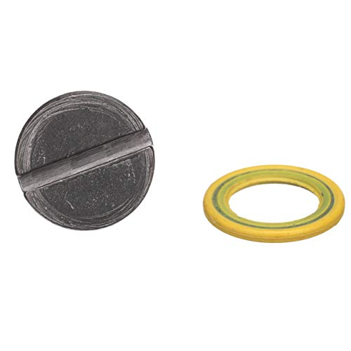 Lower Gear Case Seal - Quicksilver 79953Q04 Lower Unit Gear Lube Drain and Fill Hole Screw and Seal