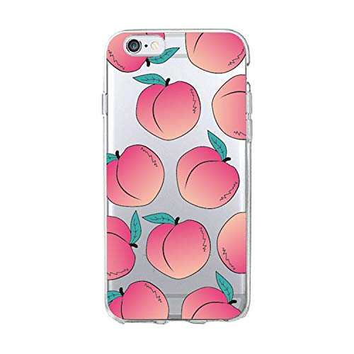 for Samsung iPhone 7 7Plus 6 6S 8 8Plus X XS Max 5S Pizza Peach Popcorn Popsicles Lips Soft TPU Phone Case Cover Coque Fundas,1,for Samsung S7