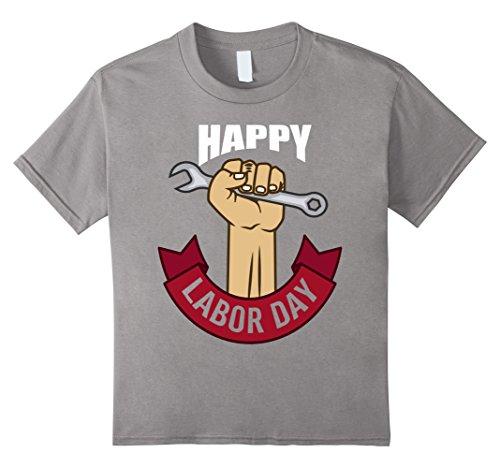 Kids Labor Day 2017 T Shirt Tshirt Cool Design Labor Power 12 Slate