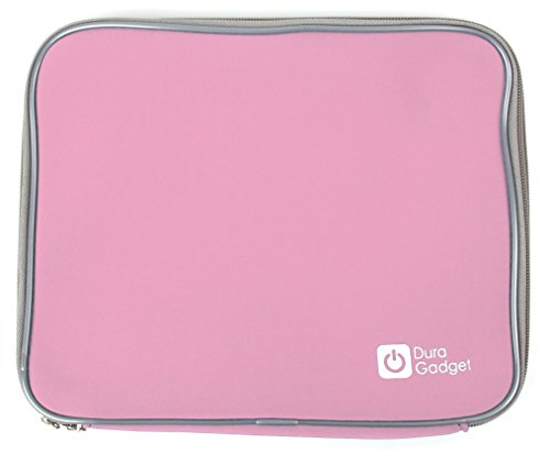 DURAGADGET Pink Water Resistant Neoprene Sleeve/Case - Compatible with the...