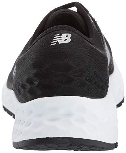 New Balance Men's 1080v9 Fresh Foam Running Shoe, Black/White, 7.5 D US by New Balance (Image #2)