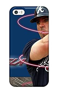 Customized LO.O Case 3414170K715849892 atlanta braves MLB Sports Colleges best For Iphone 5/5S Phone Case Cover
