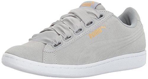 PUMA Women's Vikky Ribbon PUMA Sneakers - Quarry-Quarry (Large Image)
