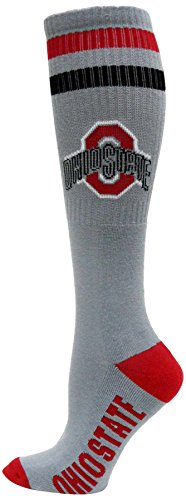 NCAA Ohio State Buckeyes Tube Socks