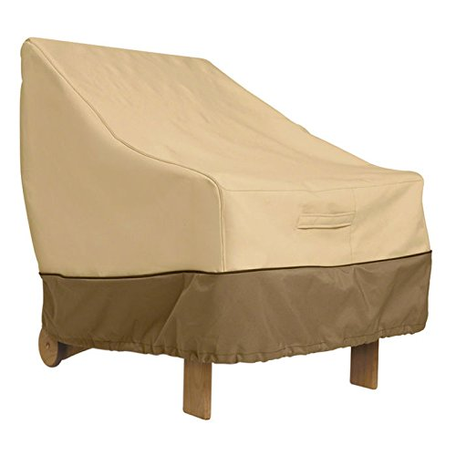 Veranda Collection Chair Cover Back, Pebble, Bark and Earth, ea