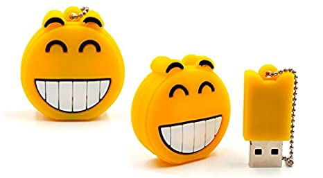 Memoria USB Emoticonos Emojis 4 GB (Cadena no incluida): Amazon.es: Electrónica