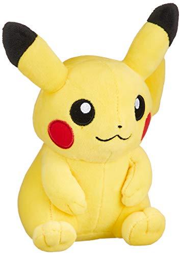 Pokemon Center Original Plush Doll Sitting Pikachu Sun Moon Go (Japan Import)