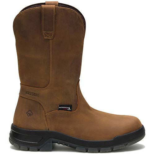 Wolverine Men's Ramparts Wellington Boot, Tan