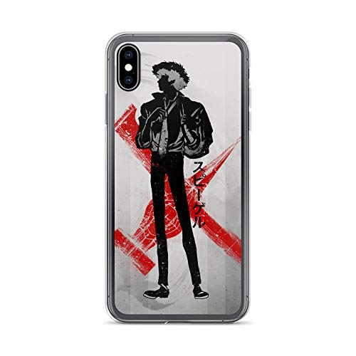 iPhone Xs Max Case Anti-Scratch Japanese Comic Transparent Cases Cover Crimson Cowboy Anime & Manga Graphic Novels Crystal Clear