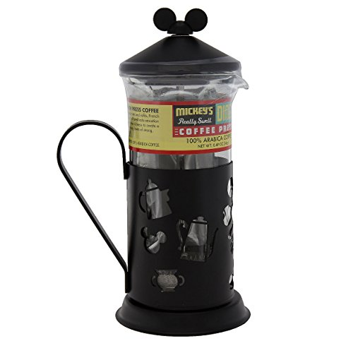 disney parks exclusive mickey mouse french coffee press set buy online in uae disney. Black Bedroom Furniture Sets. Home Design Ideas