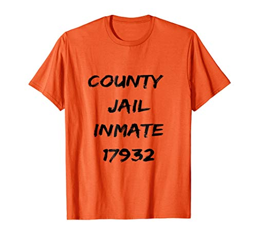 County Jail Inmate Funny Tee | Prison Inmate