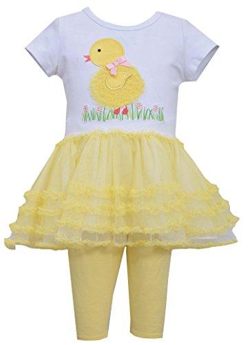 Baby Girl Chick (Bonnie Baby Baby Girls' Chick Tutu Legging Set)