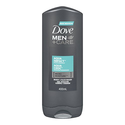 Dove Men +Care Aqua Impact Micro Moisture Body + Facewash 400ml