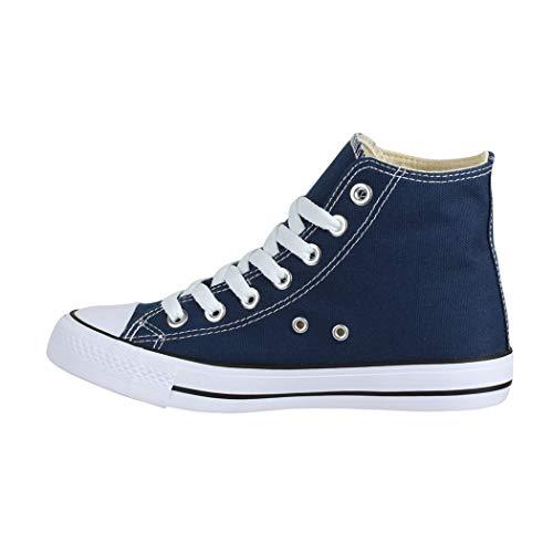 Chunkyrayan Uk Unisex Top Blue Elara Herren Sneaker Damen High 1xq7Z