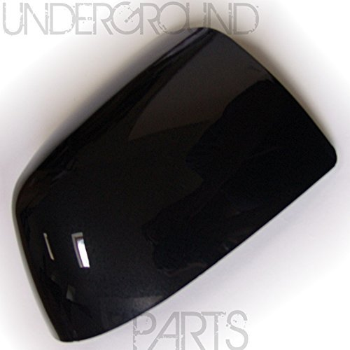 Underground Parts Right Offside Drivers Side Door Wing Mirror Cover Painted Metallic Black UNDERGROUND PARTS LIMITED