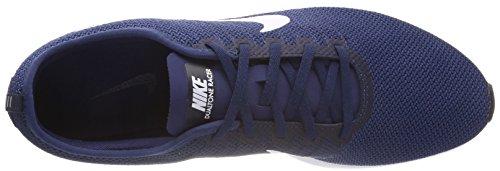 Scarpe Da Ginnastica Nike Da Uomo Dualtone Da Corsa, Blu, 40 Eu Blu (blu Notte / Bianco / Costa Bl 400)