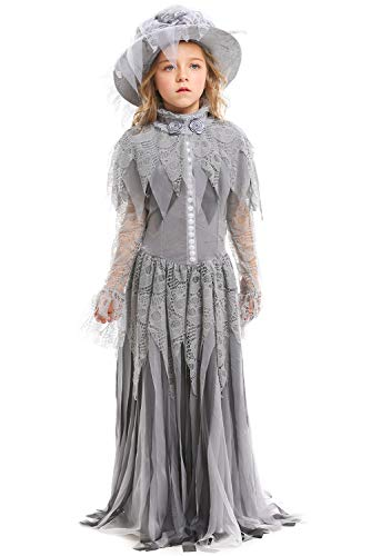 Ghostly Bride Costumes - FANTASYY Women's Girls Ghost Bride Dress