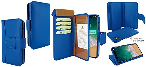 Piel Frama 793 Blue WalletMagnum Leather Case for Apple iPhone X by Piel Frama (Image #6)