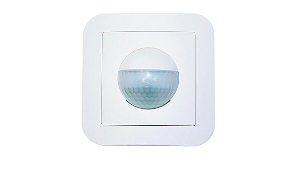 Beg det.mov/pres-i.crep - Detector movimiento sonido indoor 180-r 1 canal ral9010: Amazon.es: Bricolaje y herramientas