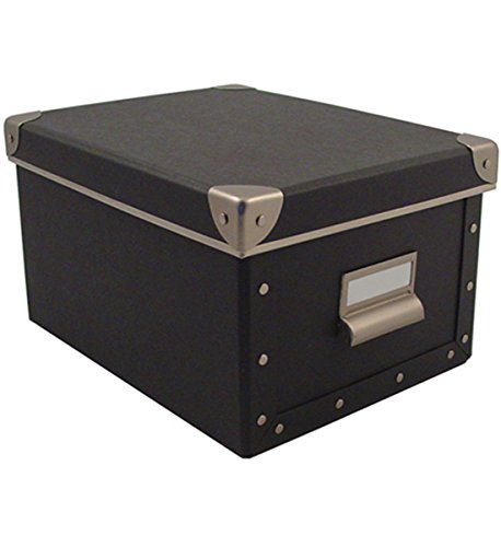 Cargo Naturals Media Storage Box, Graphite, 6 by 10-3/4 by 8-Inch