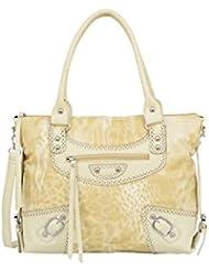 Mellow World Fashion Shoulder Bag Safari, Beige, One Size