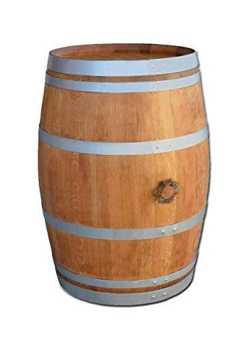 Barril de vino en barril de roble affillé con bandeja de mesa ...
