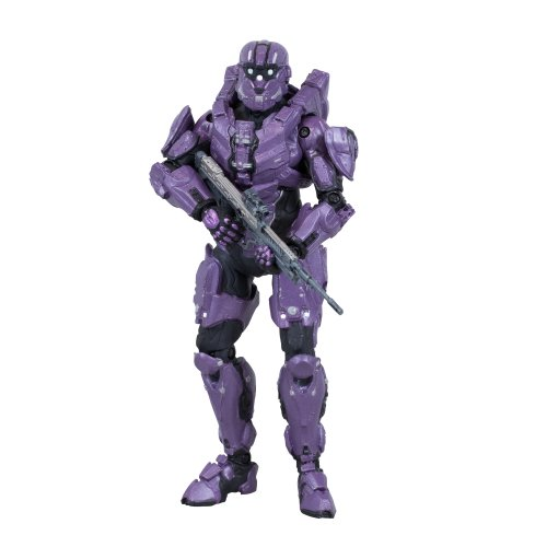 Halo 4 Series 2- Spartan C.I.O (Team Purple) with DMR